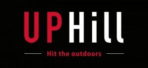 Uphill: logosuunnittelu outdoor-brändille