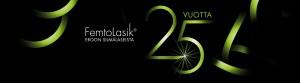 FemtoLasik juhlavuoden logosuunnittelu